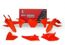 New Plastic Kit KTM SX 85 2018 2019 18 19 Racetech Plastics Neon Orange